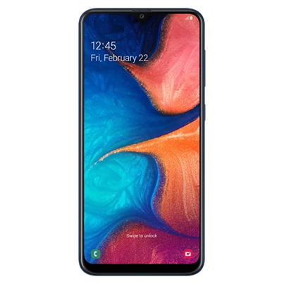 Samsung Galaxy A20 (2019) 32Gb Blue, синий
